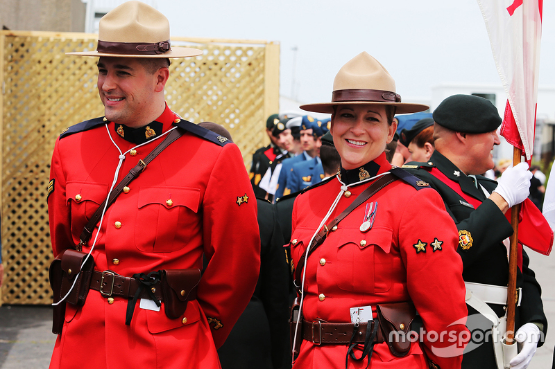 F1 Canadian Gp 2015 Royal Canadian Mounted Police Rcmp
